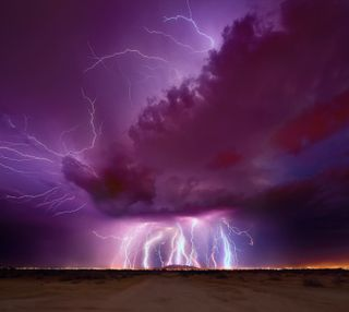 Обои на телефон шторм, thunderstorm, lightnings