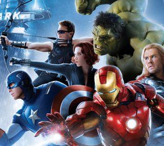 Обои на телефон эпоха, капитан, черные, халк, ультрон, тор, мстители, avengers 2