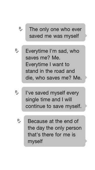 Обои на телефон я, человек, умри, только, сам, грустные, save