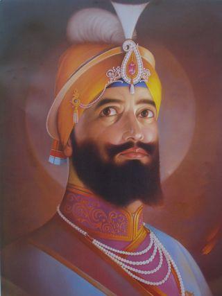 Обои на телефон религия, sikh, khanda, khalsa, guru gobind singh ji