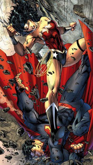 Обои на телефон чудо, лига, супермен, справедливость, комиксы, женщина, wonderwoman superman, dc