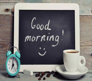 Обои на телефон чай, чашка, утро, смайлики, приятные, кофе, coffee cup
