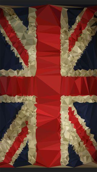 Обои на телефон фотошоп, хипстер, фон, флаг, джек, винтаж, абстрактные, union jack abstract, union, lowpoly
