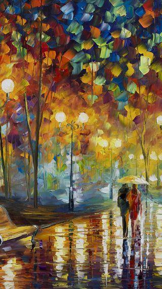 Обои на телефон амбрелла, осень, новый, любовь, йорк, дождь, love, autumn in new york