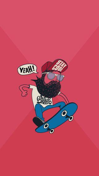 Обои на телефон скейт, skateboy