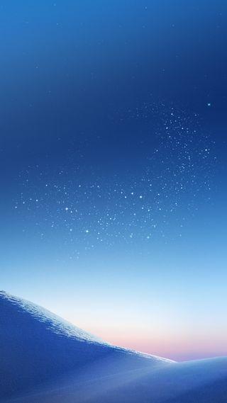 Обои на телефон пустыня, стена, стандартные, синие, песок, ночь, звезды, галактика, s8plus, s8, galaxy s8