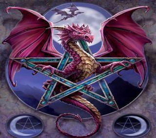 Обои на телефон приятные, дракон, dragon