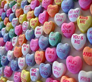 Обои на телефон валентинки, счастливые, сердце, любовь, день, love