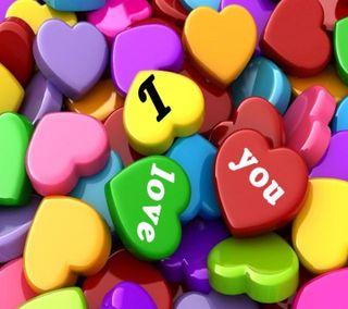 Обои на телефон конфеты, чувства, цветные, ты, сердце, поговорка, любовь, красочные, love, i love you