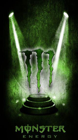 Обои на телефон энергетики, вечеринка, черные, напиток, мотивация, зеленые, monster, lit