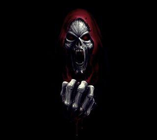 Обои на телефон фантазия, смерть, скелет, новый, мрачные, крутые, жнец, вампиры, monster