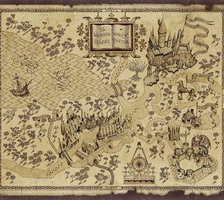 Обои на телефон хогвартс, поттер, карта, гарри, волшебник, ведьма, harry potter map