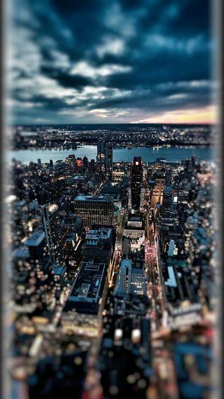 Обои на телефон темные, стиль, прекрасные, облака, красочные, грани, город, s7, edge style, dark clouds