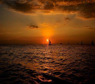 Обои на телефон солнечный свет, солнце, сияние, природа