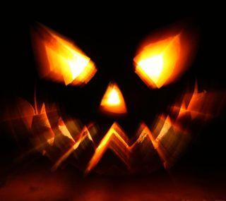 Обои на телефон тыква, хэллоуин, страшные, оранжевые