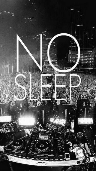 Обои на телефон сон, концерт, вечеринка, клуб, no sleep