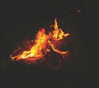 Обои на телефон фан, природа, огонь, лагерь, красота, camp fire