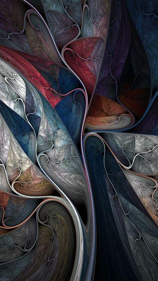 Обои на телефон art, s7, s8, абстрактные, синие, красые, арт, оранжевые, серые, серебряные