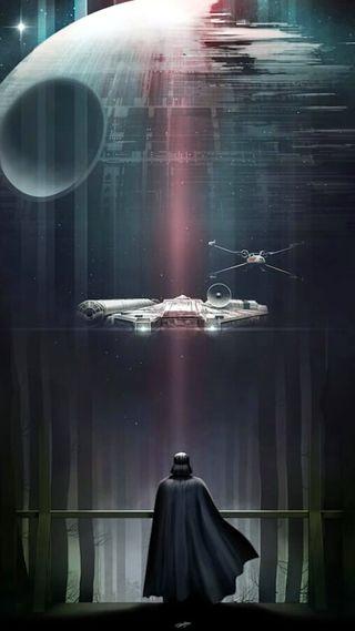 Обои на телефон starwar03, темные, звездные войны