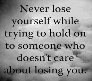 Обои на телефон цитата, терять, себя, поговорка, новый, никогда, любовь, крутые, забота, never lose yourself, love