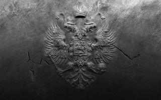 Обои на телефон россия, стена, coat of arms