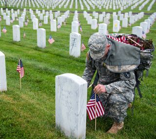 Обои на телефон прайд, солдат, американские, memorial, cemetary, arlington, american pride