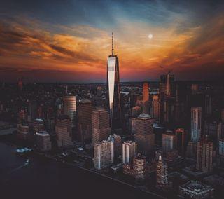 Обои на телефон нью йорк, новый, красота, город