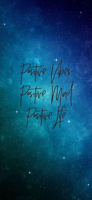 Обои на телефон позитивные, цитата, слово, разум, жизнь, галактика, вайб, positive quote, galaxy