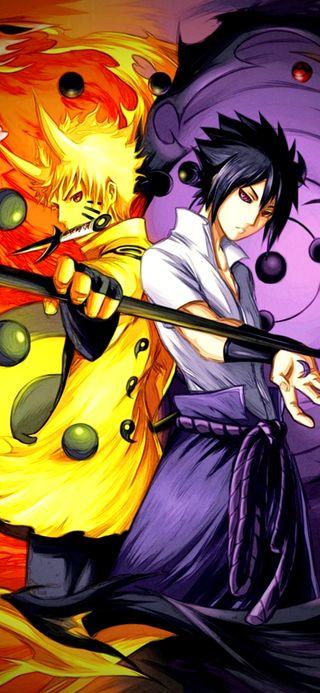 Обои на телефон шаринган, саске, наруто, nine tales, kyubi, jinjiruki