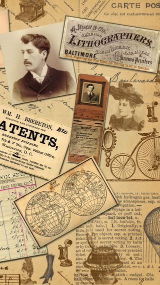 Обои на телефон карта, старые, мир, коллаж, винтаж, old world, newspaper, lithograph