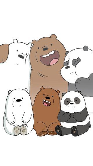 Обои на телефон привет, вся правда о медведях, osos escandalosos, hello, estan