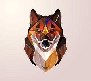 Обои на телефон волк, autumnal wolf