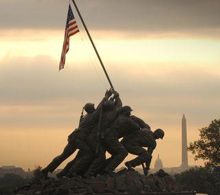 Обои на телефон юнайтед, сша, статуя, морской, морские пехотинцы, америка, usmc, usa, us marines, iwo jima