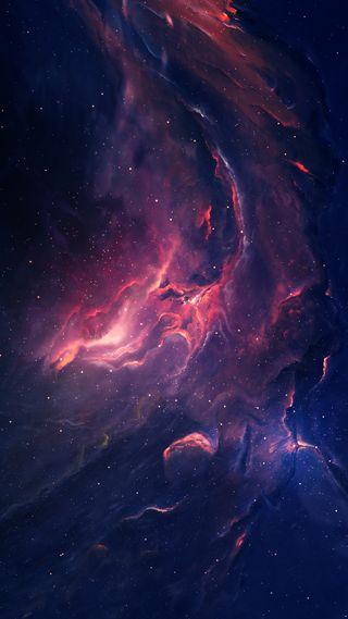 Обои на телефон туманность, космос, starkiteckt, eden nebula 2