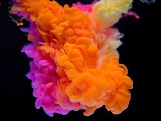 Обои на телефон цветные, фотография, красочные, дым, colourful smoke
