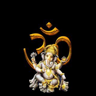 Обои на телефон ом, индия, духовные, господин, боги, ganapathi
