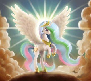 Обои на телефон пони, мультики, ангел, pony angel
