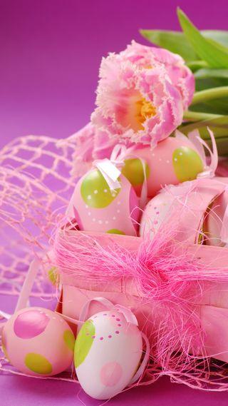 Обои на телефон яйца, празднование, цветы, украшение, розовые, пасхальные, декор, время, easter time