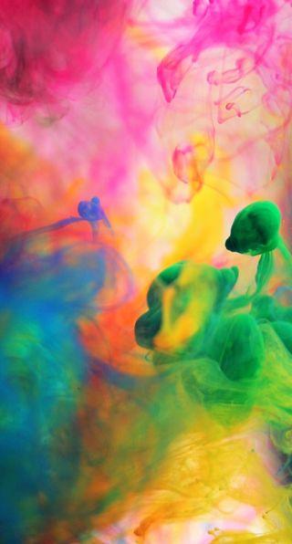 Обои на телефон туман, цветные, радуга, дым, галактика, galaxy, colour mist