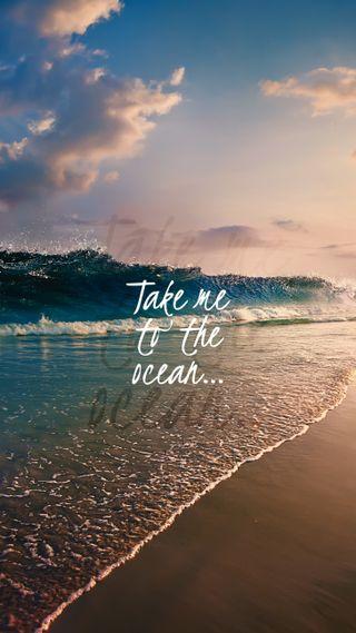 Обои на телефон океан, to the ocean, to the