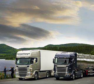 Обои на телефон транспорт, грузовики, scania