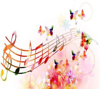 Обои на телефон цвета, розовые, радуга, прекрасные, музыка, жизнь, бабочки, rainbow colours