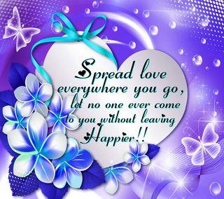 Обои на телефон счастье, цитата, слова, поговорка, мудрые, любовь, вдохновляющие, wise inspiring, spread love, quote saying