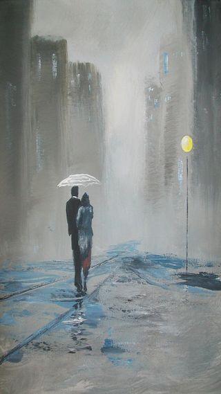 Обои на телефон прогулка, романтика, romantic walk