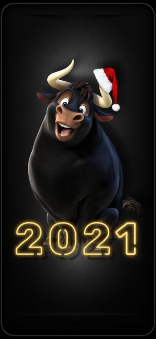 Обои на телефон год, рождество, новый, new year 2021, 2021