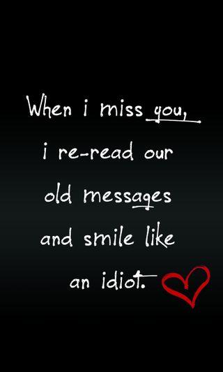 Обои на телефон скучать, цитата, ты, приятные, поговорка, новый, любовь, messages, love