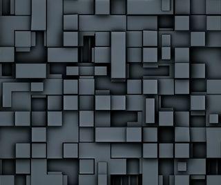 Обои на телефон чувствовать, фон, ты, плитка, куб, квадратные, блоки, do you feel blocked