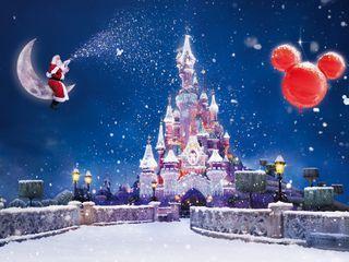 Обои на телефон магия, рождество, ночь, magic night