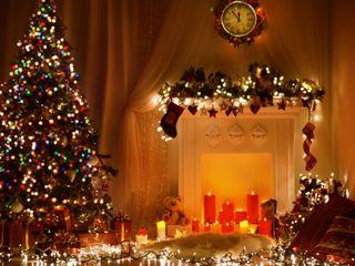 Обои на телефон свеча, счастливое, рождество, дерево, candle christmas