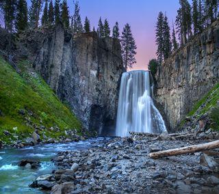 Обои на телефон водопад, красота